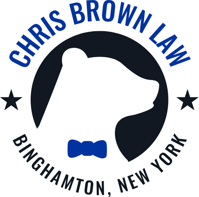chris brown law logo - Broome County