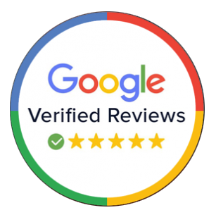 google review badge - Triangle